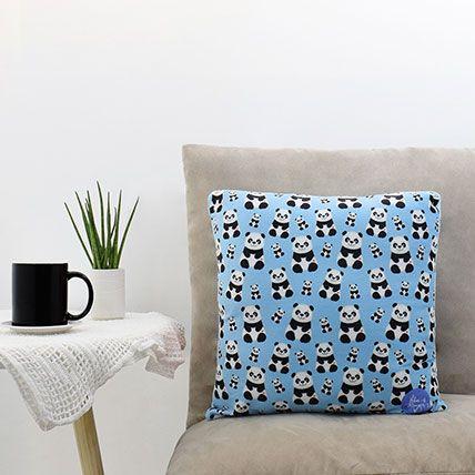 Baby Panda Printed Cushion: