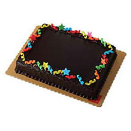 Chocolate Dedication Cake: Cake Delivery