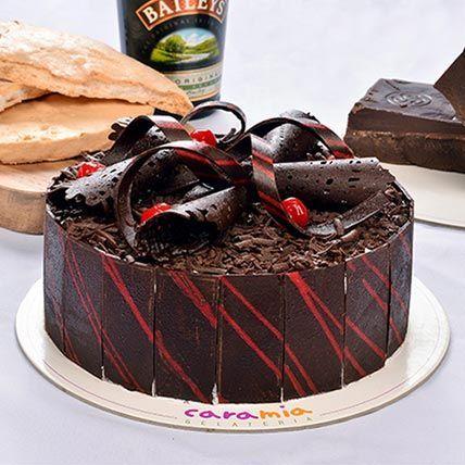 Delicious Choco Baileys Cake: Chocolate Cakes
