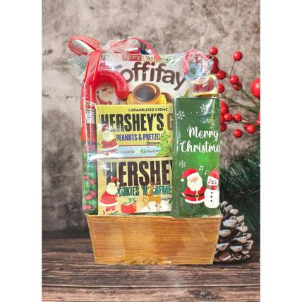 Hersheys Christmas Basket: Christmas Gift Hampers