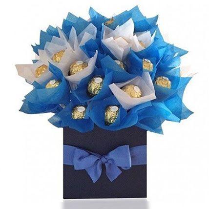 Lavish Rocher Arrangement: Ferrero Rocher Chocolates