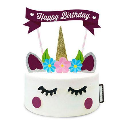 Over The Rainbow Unicorn Cake: Birthday Cake