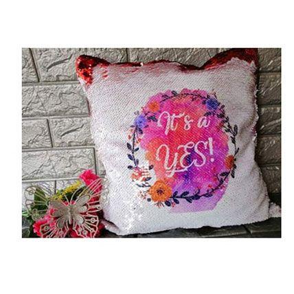 Personalized Mermaid Couple Cushion: