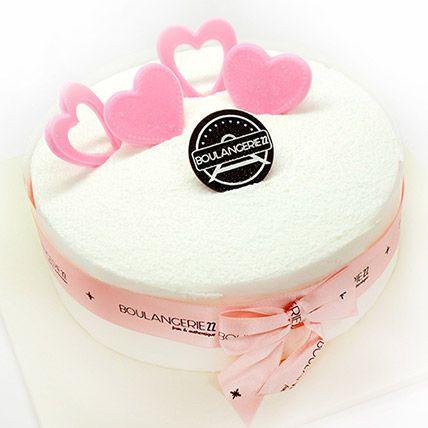 Strawberries And Cream Cake: Birthday Cake