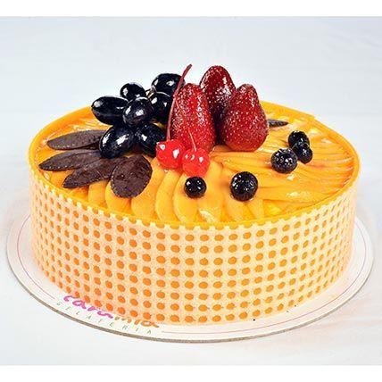 Tempting Mango Passion Cake: