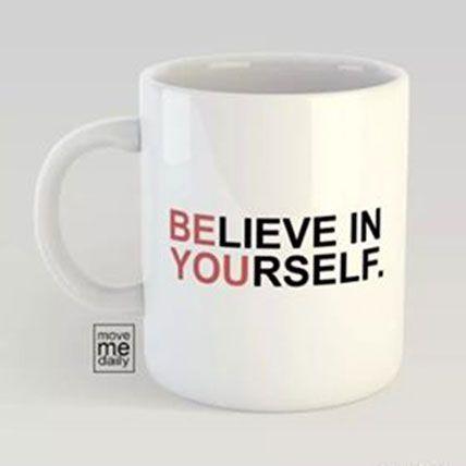 White Color Changing Printed Mug: