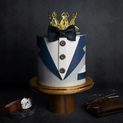 Tuxedo Cake: