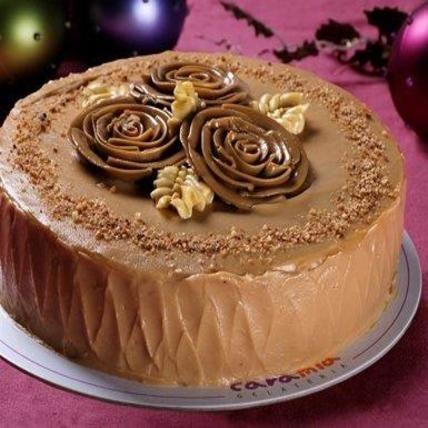 Caramel Chiffon Cake