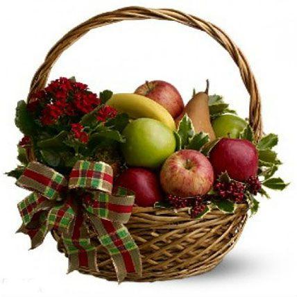 Fresh Seasonal Fruit Basket