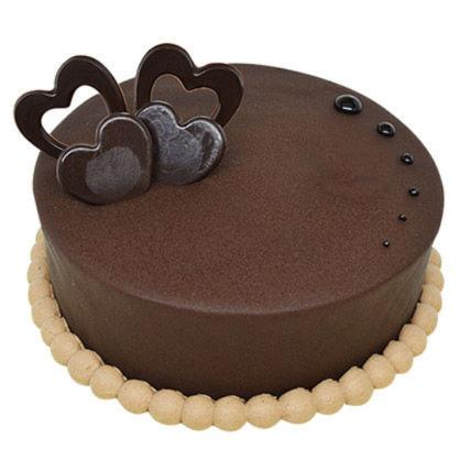 Rich Dark Chocolate Chiffon Cake