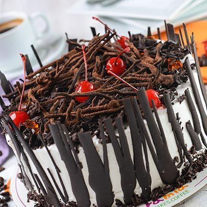 Yummy Choco Cherry Cake