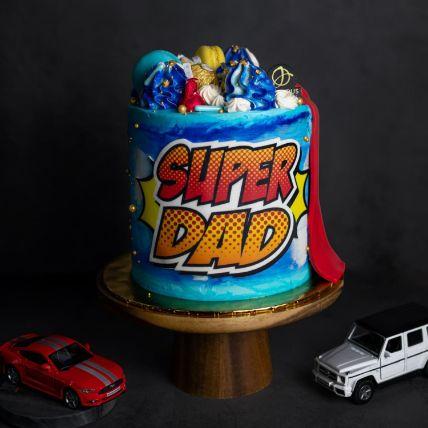 SuperHero Papa Cake
